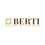 berti brown letters logo