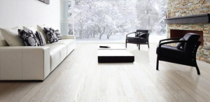 Influence of the light and dark floor in a room